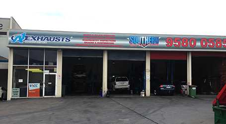 Southern Car Care fully equipped workshop